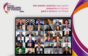 5º Fórum Brasileiro de Turismo tem abertura com várias autoridades