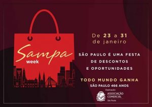 ACSP anuncia Sampa Week, a Black Friday paulistana