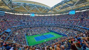 O tênis está entre os eventos esportivos