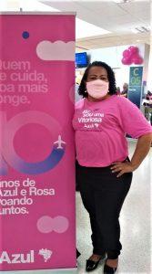 Azul Linhas Aéreas participa do Outubro Rosa
