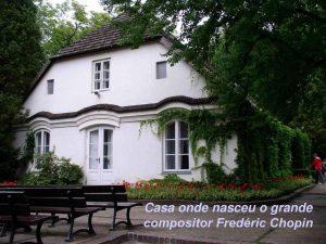 A casa onde morou Chopin na Polônia