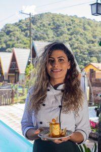 Cozinha internacional nas montanhas da Mantiqueira