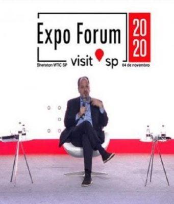 Expo Forum Visit SP aborda o futuro e as oportunidades no Turismo