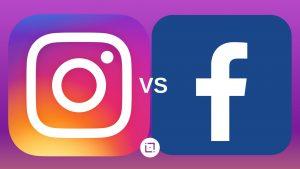 Faz sentido falarmos em Facebook x Instagram