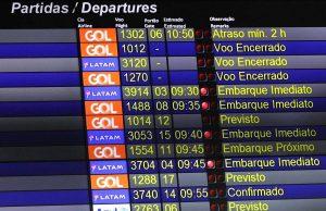 Gol emite comunicado sobre as alterações nos voos