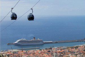 O teleférico é uma das atrações do destino português