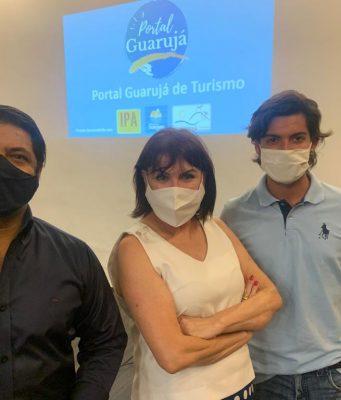 Portal Guarujá Turismo mobiliza trade turístico