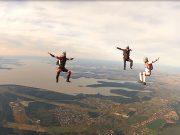 Salto de paraquedas é o novo atrativo radical em Foz do Iguaçu