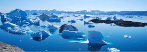 Groenlândia é uma das dicas de lugares para navegar
