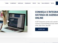 CEP Transportes lança novo site, investe em tecnologia e implanta protocolos