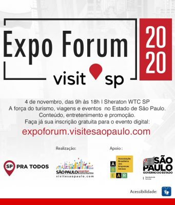 Temas importantes marcam a Expo Forum Visit SP