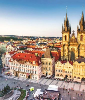 Viajando pela República Tcheca através do livros